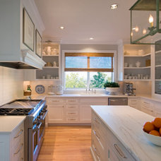 Transitional Kitchen by Rockwood Cabinetry