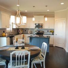 Transitional Kitchen by Aspen Homes LLC