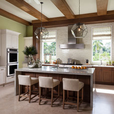 Transitional Kitchen by Courchene Development Corp