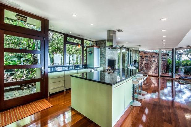 Midcentury Kitchen by JA Design