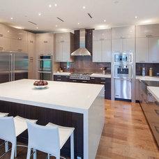 Contemporary Kitchen by Katerina Vallianatos