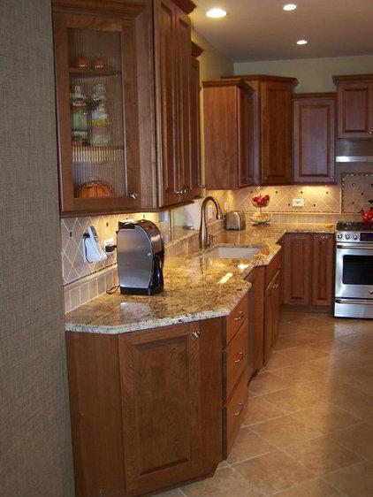angled corner cabinet ideas