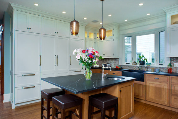 Traditional Kitchen by The Hammer & Nail, Inc.