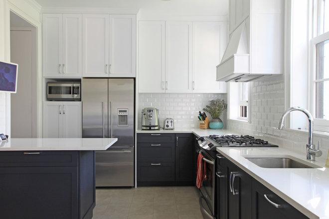 Transitional Kitchen by Maletz Design