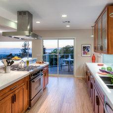 Contemporary Kitchen by Treve Johnson Photography