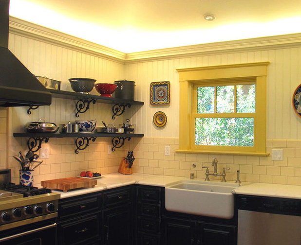 traditional kitchen by insideout design inc - Modern Victorian Kitchen Design