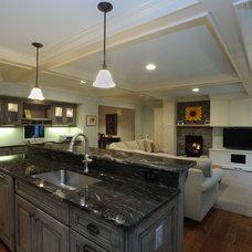 Traditional Kitchen by Kristen Shellenbarger Designs