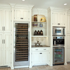 traditional kitchen by Mary Courville Designs