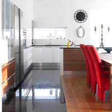 Contemporary Kitchen by Hans Krug Fine European Cabinetry