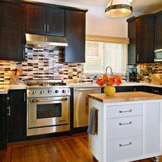 Contemporary Kitchen by Faiella Design