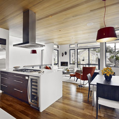 contemporary kitchen by Bruce Wright