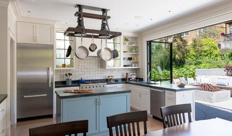 8 Blue Paint Colors to Consider for a Kitchen Island