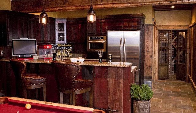 Tropical Kitchen by Michelle Fries, BeDe Design, LLC