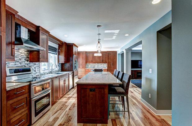 Craftsman Kitchen by Berghuis Construction LLC