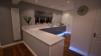 Bespoke Floating Kitchen - East Lothian