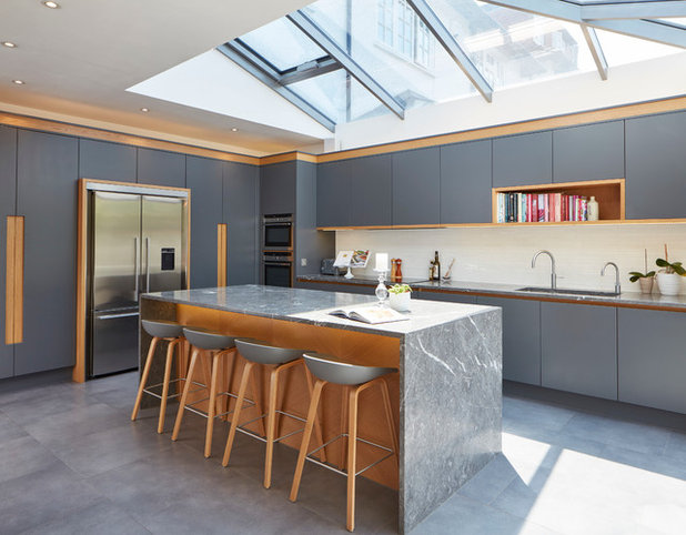 Marvelous Contemporary Kitchen by Extreme Design
