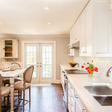 Transitional Kitchen by Leslie Goodwin Photography