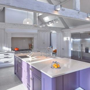 Bespoke Kitchen with Beautiful Beams | Knutsford Barn Conversion