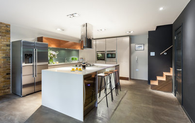 Room of the Day: Family Digs In for a Chic New Kitchen and Dining Area