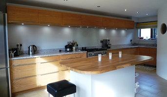 Bespoke Oak Veneered Kitchen