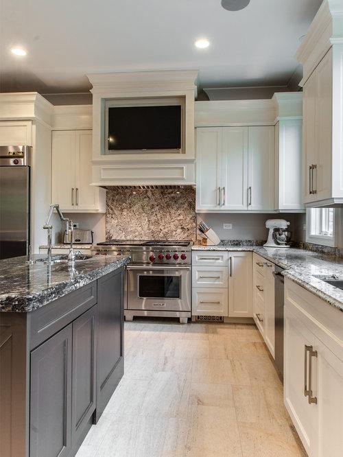 Countertop Dishwasher Hong Kong : Gray And White Kitchens Home Design Ideas, Renovations & Photos