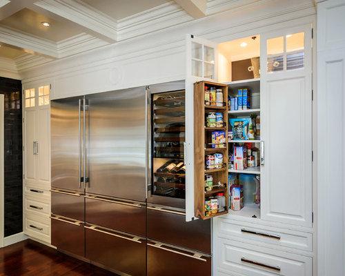 Pantry With Freezer Houzz