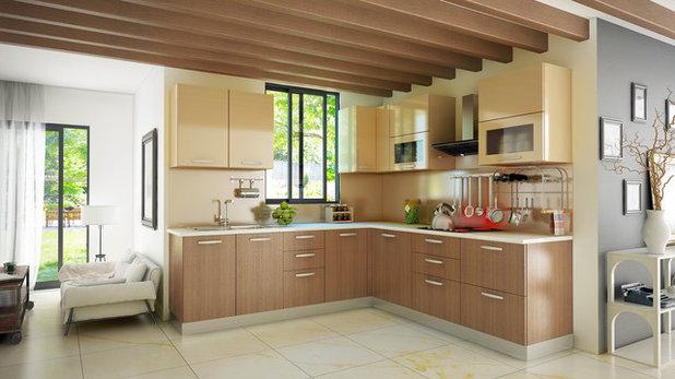 Modern Kitchen by Kreative Koncepts