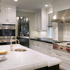 Transitional Kitchen by St. Clair Kitchen & Home by Antoinette Fraser