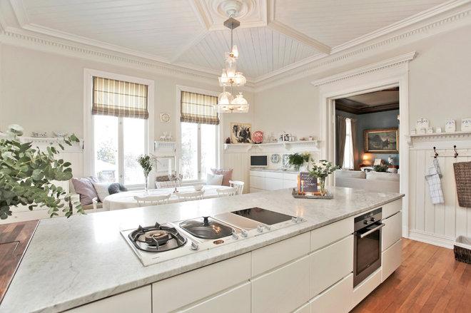 Transitional Kitchen by ACR Villa Skovly