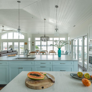 Coastal kitchen designs - Inspiration for a coastal kitchen remodel in DC Metro