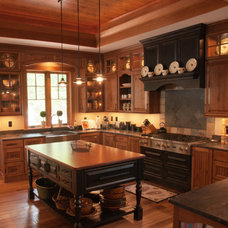 Traditional Kitchen by Pierre Archambault Cabico Custom Cabinetry