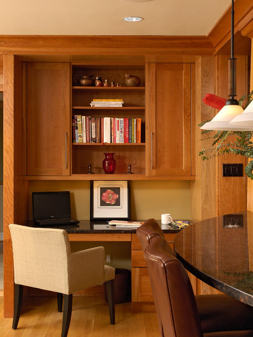 Kitchen Computer Desk Ideas, Pictures, Remodel and Decor