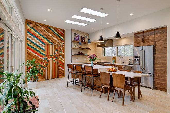 Contemporary Kitchen by Galaxy Homes