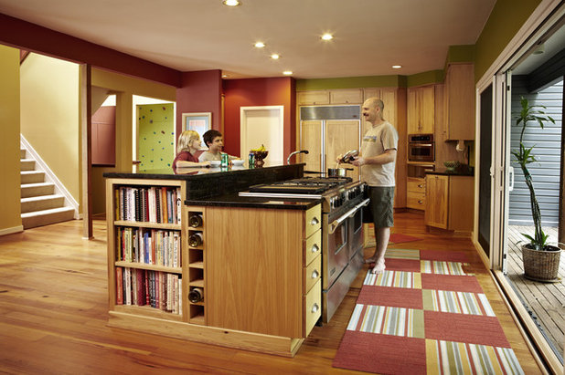 Transitional Kitchen by Designing Solutions