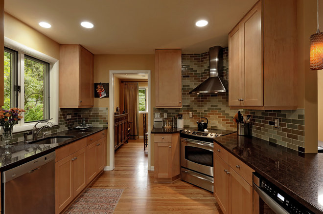 Traditional Kitchen by Paula Grace Designs, Inc.