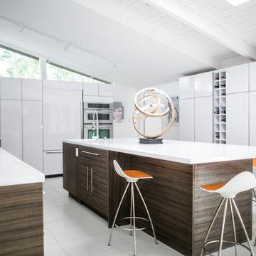 Better Built - Mid-Century Modern Kitchen