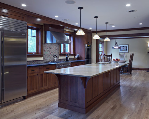 Prairie Style Kitchen Houzz