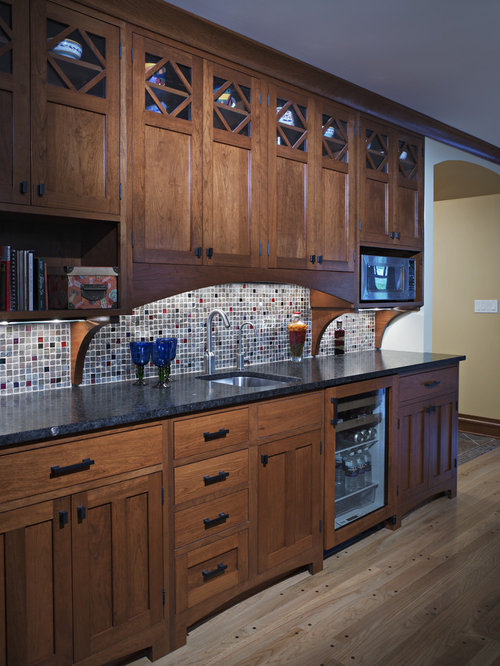 Dark Oak Cabinets Home Design Ideas, Pictures, Remodel and ...