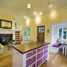 Craftsman Kitchen by Kat Freeman Designs