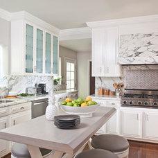 Transitional Kitchen by Smith Firestone Associates
