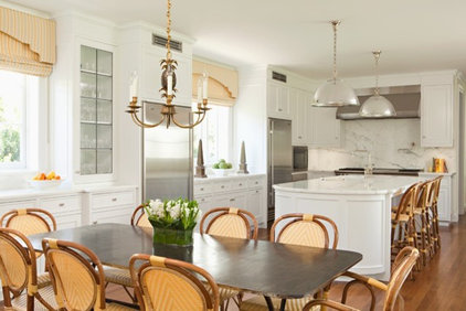 Transitional Kitchen by Elizabeth Dinkel