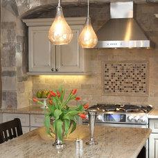 Traditional Kitchen by Lark Interior Design