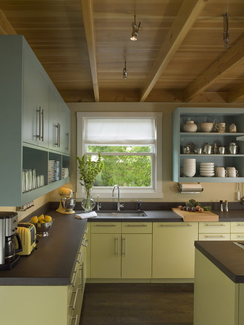 Painted Kitchen Cabinets | Houzz