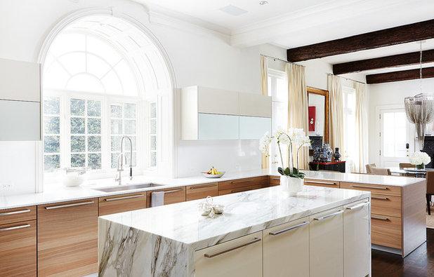 Contemporary Kitchen by Jennifer Fordham