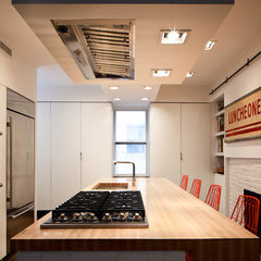 modern kitchen by Bunker Workshop