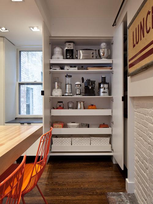 Large Closet For Kitchen Appliance Storage