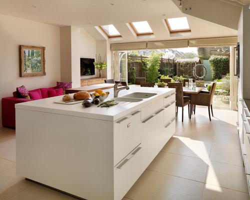 Kitchen extension houzz for Kitchen design 5m x 6m