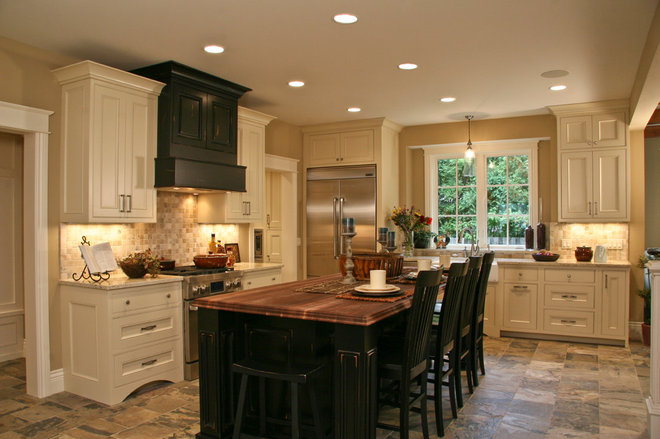 Traditional Kitchen by Falcon Custom Homes