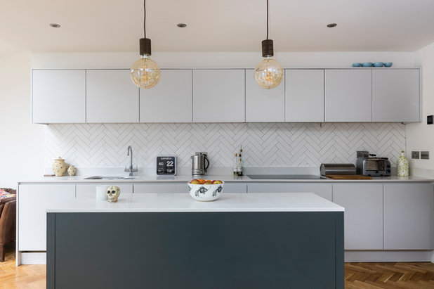 Contemporary Kitchen by Design Squared Ltd