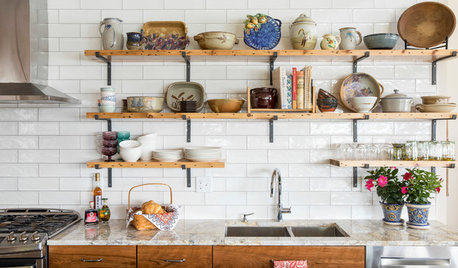 The Best Things to Store on Open Kitchen Shelves